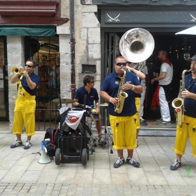 Fêtes de Pampelune et Bayonne 2015