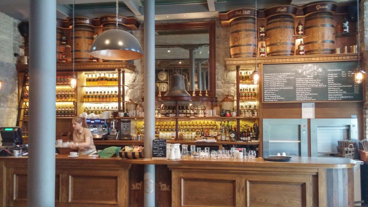 Visite à la distillerie de Tullamore