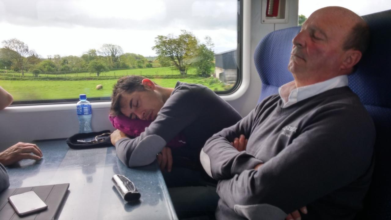 En route vers Croke Park - Dublin