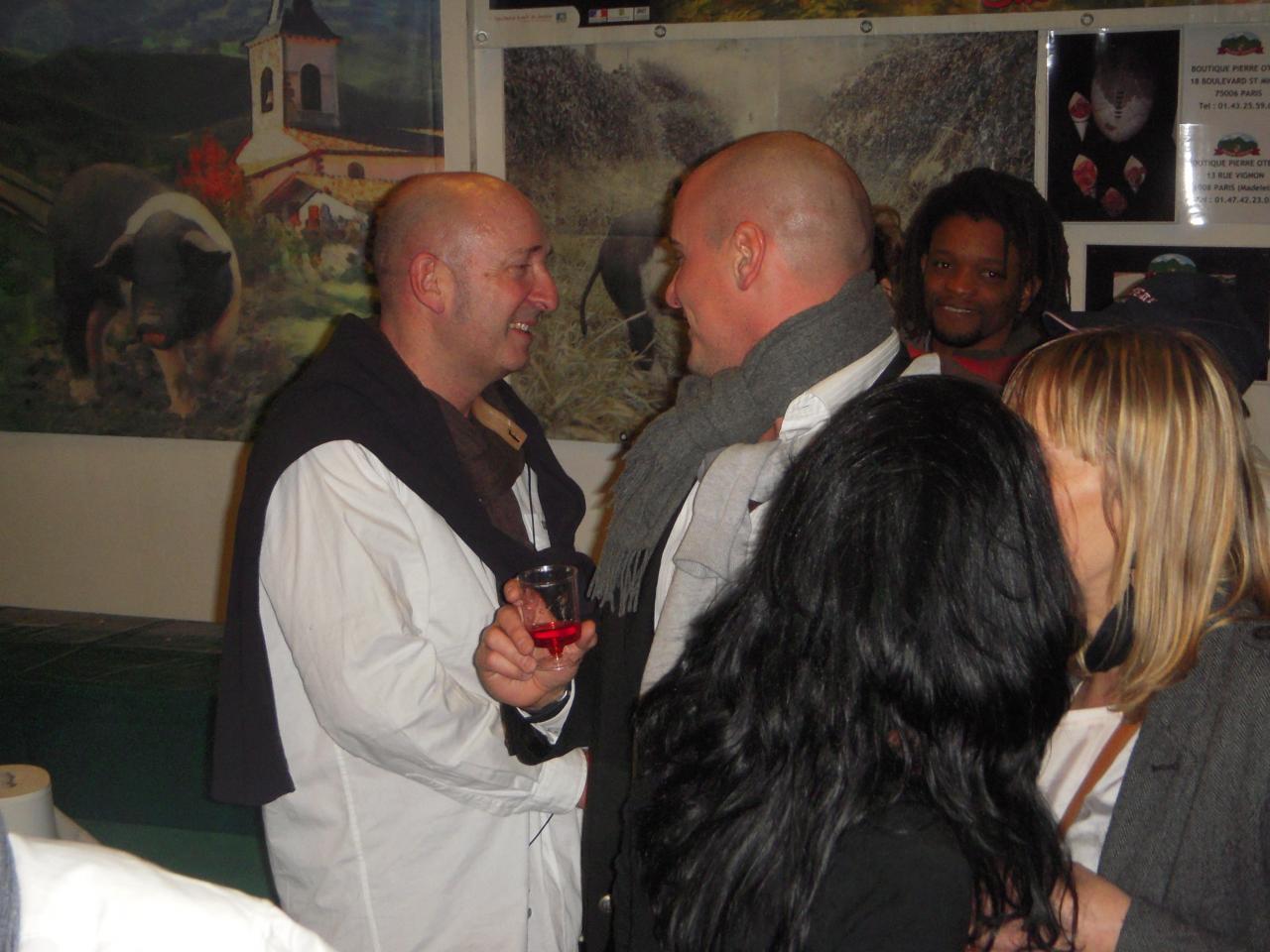 Michel Blanc et Bruce Willis