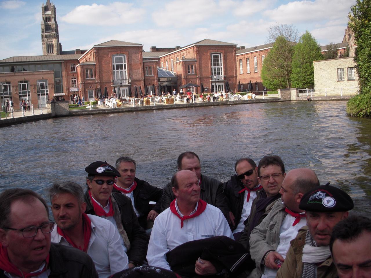 Balades sur les canaux de Bruges