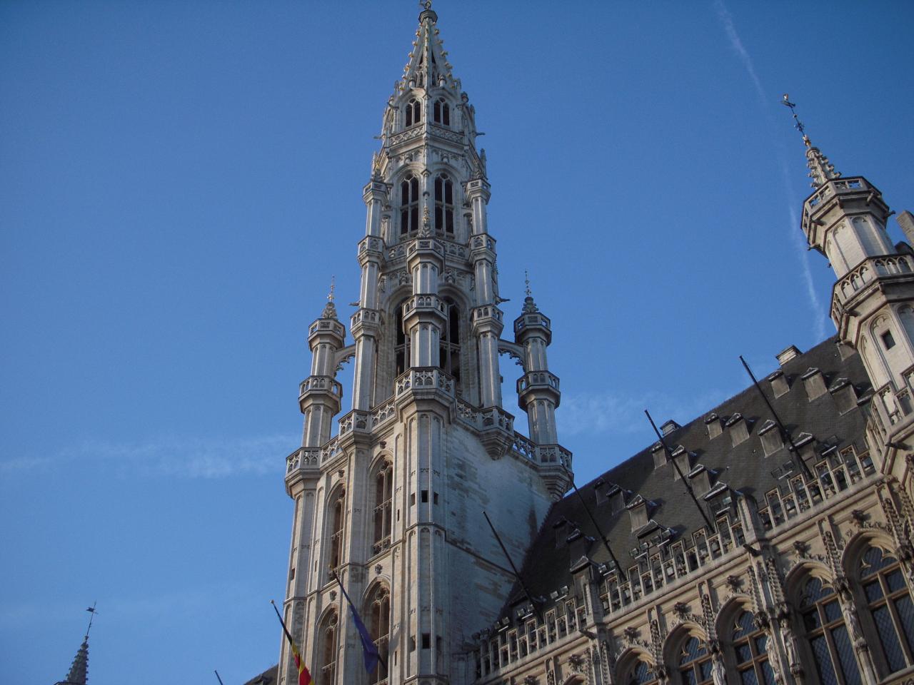 La cathédrale. La raison de notre venue à Brussels